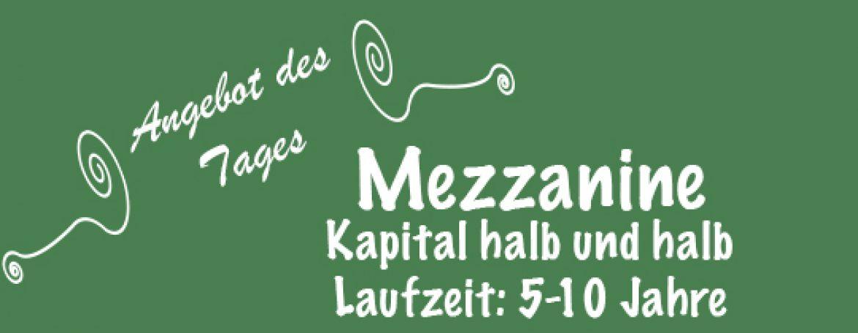 der Mezzanine-Finanzierung